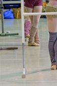 芭蕾课 — 图库照片