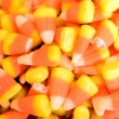 Candy corn for halloween — Stock Photo