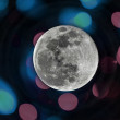 Celestial sky and full moon — Stock Photo #33309563