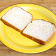 White bread — Stock Photo
