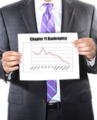 Chapter 11 bankruptcy — Stock Photo