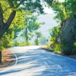Stock Photo: Winding road in the mountains.