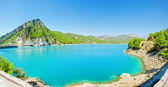 Panorama of green canyon in Turkey — Stock Photo