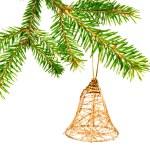 Hanging Christmas Ornaments — Stock Photo