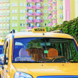 City taxi in Turkey — Stock Photo #14596049