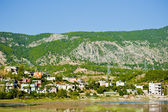 Mountain village. Turkey. Manavgat River area. — Stock Photo