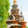 Foto Stock: RussiWooden Church. Suzdal.