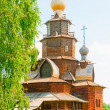 Stock Photo: RussiWooden Church. Suzdal.