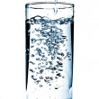 Cold water being poured into a glass. — Stock Photo #22119259
