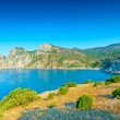 Coastline of Crimea - Karadag mountains - Stock Photo