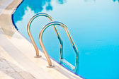 Entrance to the pool close-up — Stock Photo