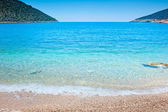 Idealistic sea cove with turquoise water — Foto Stock