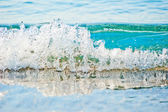 Clear turquoise sea water — Stock Photo