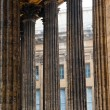 Beautiful colonnade of the Kazan Cathedral in St. Petersburg — Stock Photo #41148085