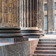 Lower part of the columns of the Kazan Cathedral in St. Petersburg — Stock Photo #41501031