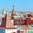 Stock Photo: Cityscape Yaroslavl removed from height