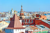 Cityscape Yaroslavl removed from height — Stock Photo