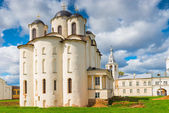 View St. Nicholas Cathedral in Veliky Novgorod. Russia — Stock Photo