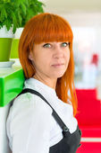 Portrait of a successful businesswoman in the office — Stock Photo