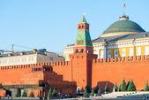 Здания правительства в Кремле в Москве — Стоковое фото