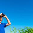 Looking for something in the blue sky — Stock Photo #50473327