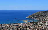 Sea port in Alanya — Stock Photo