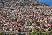 View of Alanya from height — Stock Photo