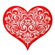 Heart shape — Image vectorielle