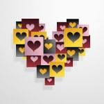 Heart shapes — Stock Vector