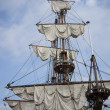 Vintage vessel mast — Stock Photo #35259705