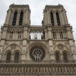 Church Notre Dame de Paris — Stok fotoğraf