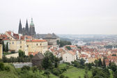 Prague old town view — Stock Photo