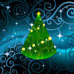 Christmas tree card — Stock Vector #35478173