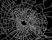 Broken glass — Stock Vector