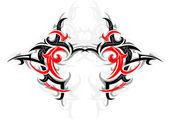 Tribal art tattoo — Stock Vector