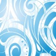 Vector de stock : Artistic liquid swirls