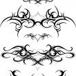 Tribal tattoo set — Stock Vector #36603095