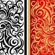 图库矢量图片: Abstraction with swirls