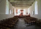 Interior Church Oostrum — Stock Photo