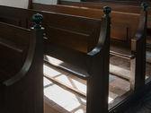 Panche in prosciutto den chiesa — Foto Stock