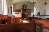 Interior of Church Feerwerd — Stock Photo