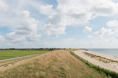 Dike at Wadden Sea — Stock Photo