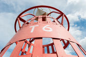 Red buoy T6 — Stock Photo
