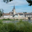 Stock Photo: LCharite sur Loire