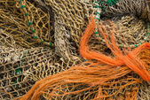 Several Fishing Nets — Stock Photo