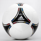 Euro 2012 - Soccer Ball — Stock Photo