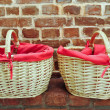 Two baskets — Stock Photo