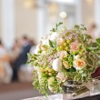Wedding bouquet with roses — Stok fotoğraf
