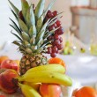 Fruit Arrangements .Fresh various fruits — Stock Photo