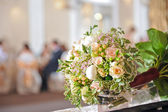 Bruiloft boeket met rozen — Stockfoto